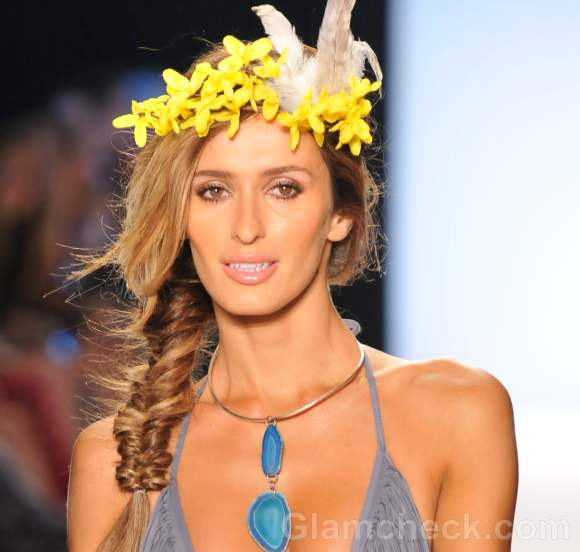 beach hairstyles hair accessories spring summer 2012