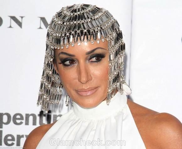 cleopatra head dress Nancy DellOlio