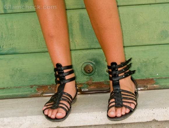 gladiator sandals style picture