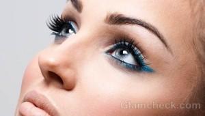 make false eyelashes look more natural