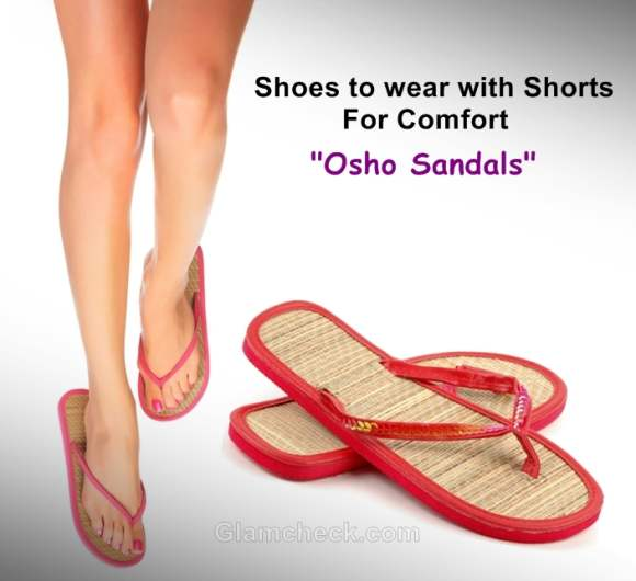osho chappals sandals to wear with shorts