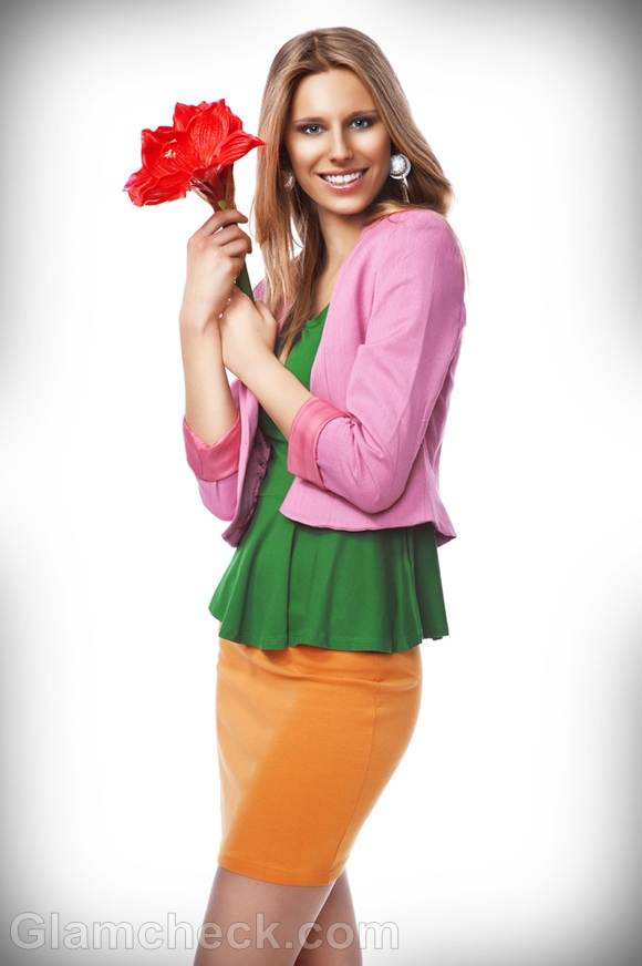 rock the look color blocking style