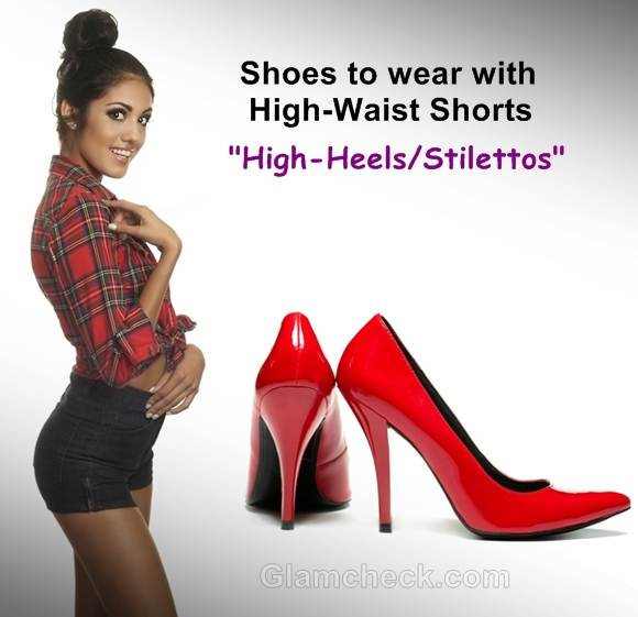 shoes to wear with shorts high heels