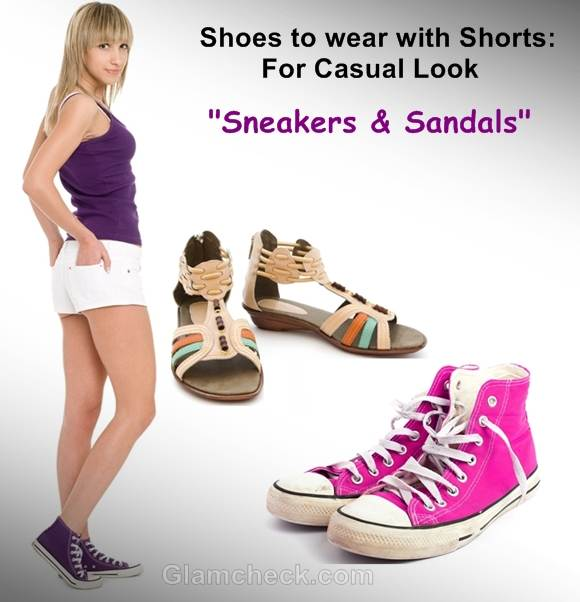 shoes to wear with shorts sneakers