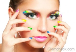 DIY: Rainbow Nail Art