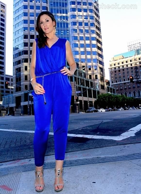Electric Blue Jumpsuit Leni Rico
