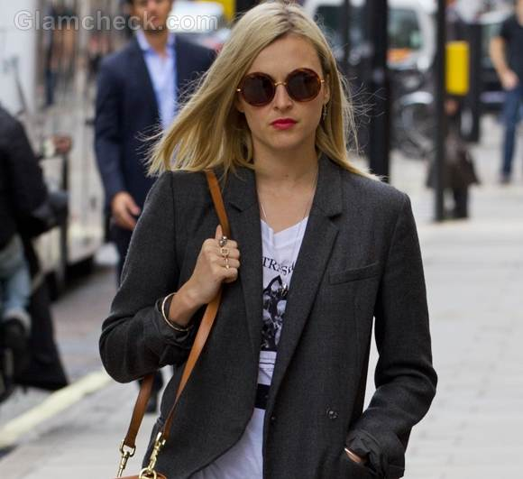 Fearne Cotton grunge look on streets