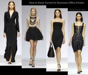 How to Dress Formal for Business / Office Parties (for women)