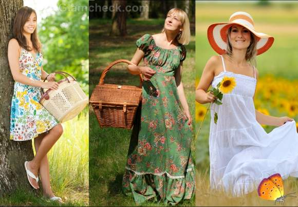 How to dress for picnic clothes