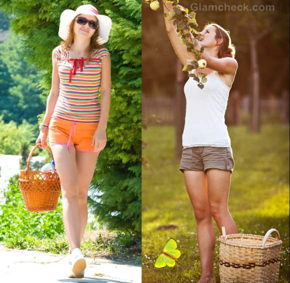 How to dress for picnic-shorts