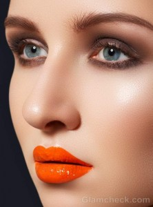 How to get tangerine lips glossy