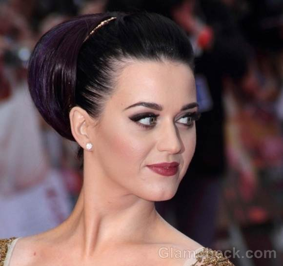 Katy Perry hairstyle makeup part of me UK premiere