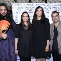 Lakme Grand Finale Designers Purnima Lamba Kallol Datta Pankaj-Nidhi