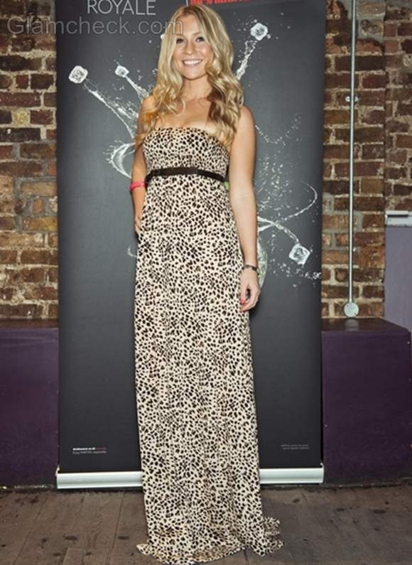 Millie Clode animal print dress