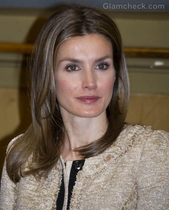 Princess Letizia Elegant Hair Makeup