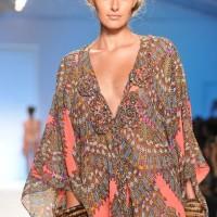Style pick Kaleidoscopic printed resort wear kaftan by Mara Hoffman