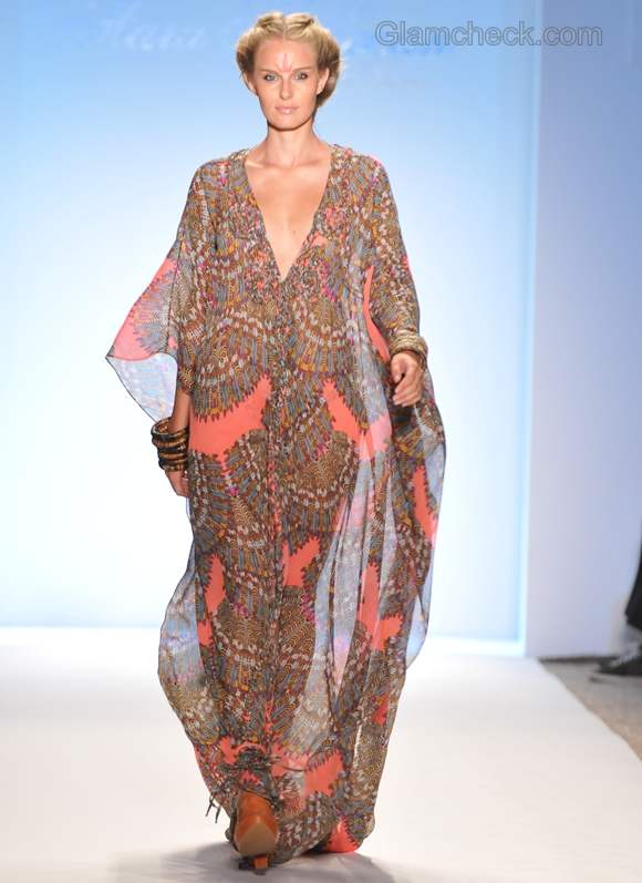 Style pick printed resort wear kaftan by Mara Hoffman