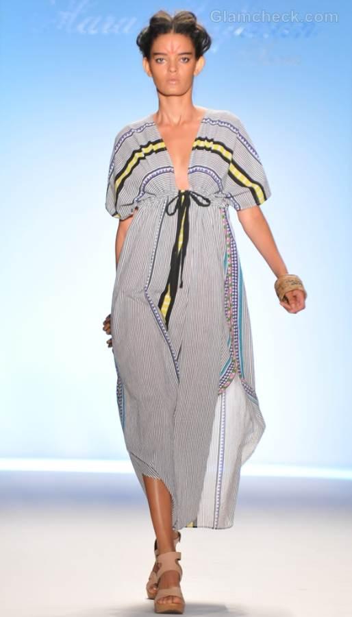 Style pick stripe beach kaftan s-s -2012 mara hoffman