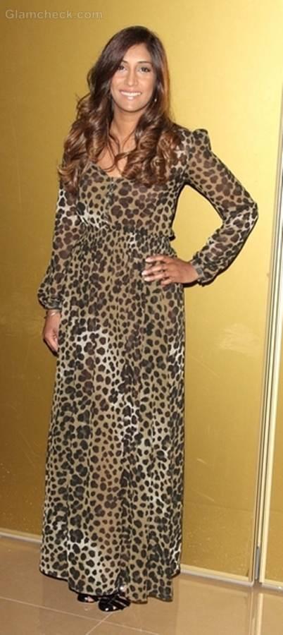 animal print dress Tina Daheley