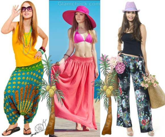 beach party clothes looks