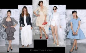 Celebs at Chanel Haute Couture Fall/Winter 2012 Paris Fashion Week
