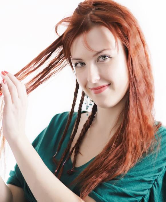 how crimp hair braiding