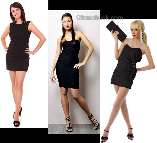 how to look beautiful in little black dress