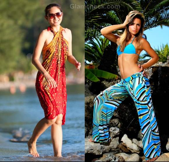 sarongs beach cover-ups hawaiian holiday