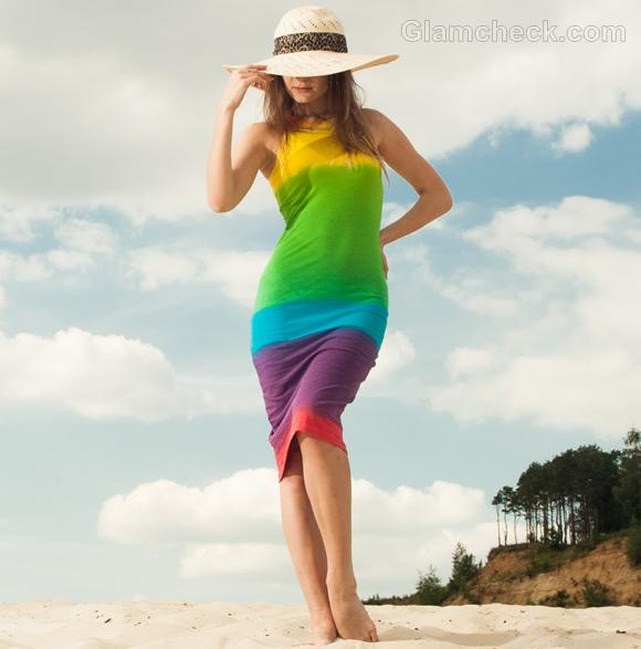 t-shirt dress for beach party