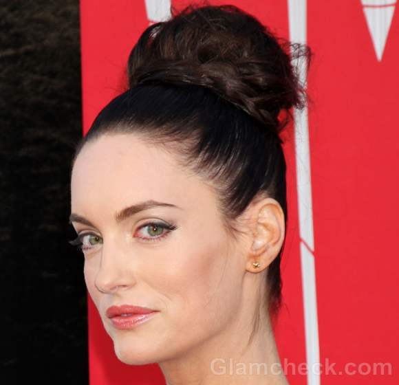 updo hairstyle Alex Lombard