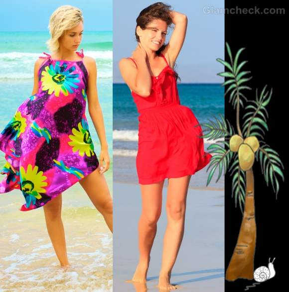 wear sun dress for beach party