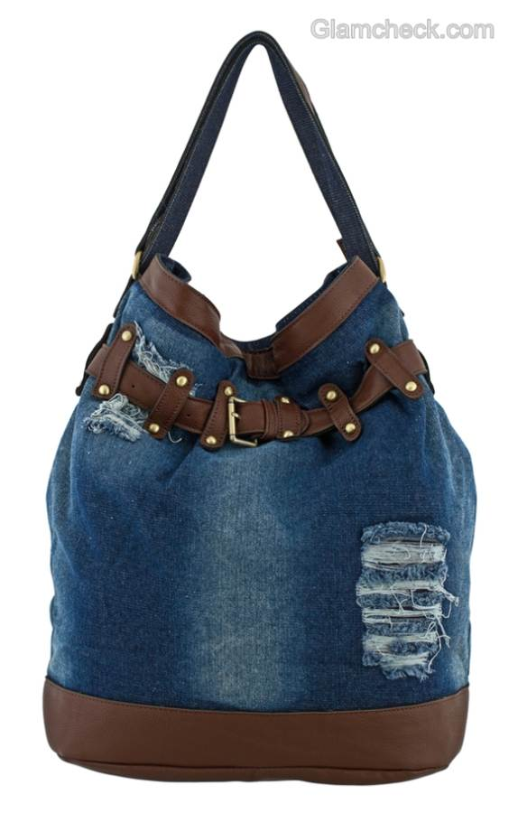 Denim Handbags Bag It Denim Style From Meetings To
