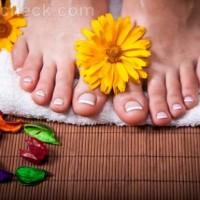 Feet care routine