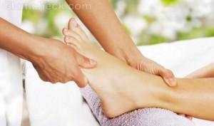 Health benefits of feet massage