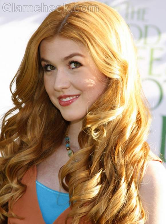 Blonde Curly Hair Actress 20