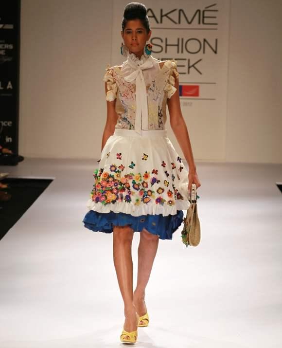 Kavita Sharma LFW winter festive 2012