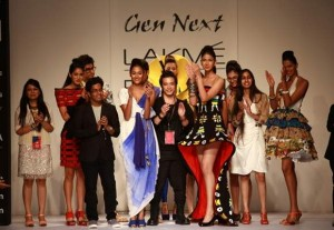 Gen Next Designers Opened Lakmé Fashion Week Winter/Festive 2012 with their Sensational Collections
