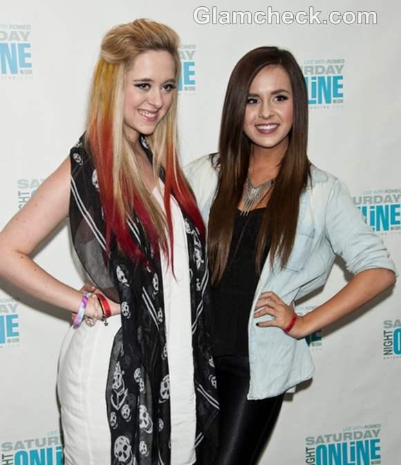 Megan hair color Liz