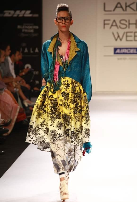 Richa Aggarwal LFW winter festive 2012