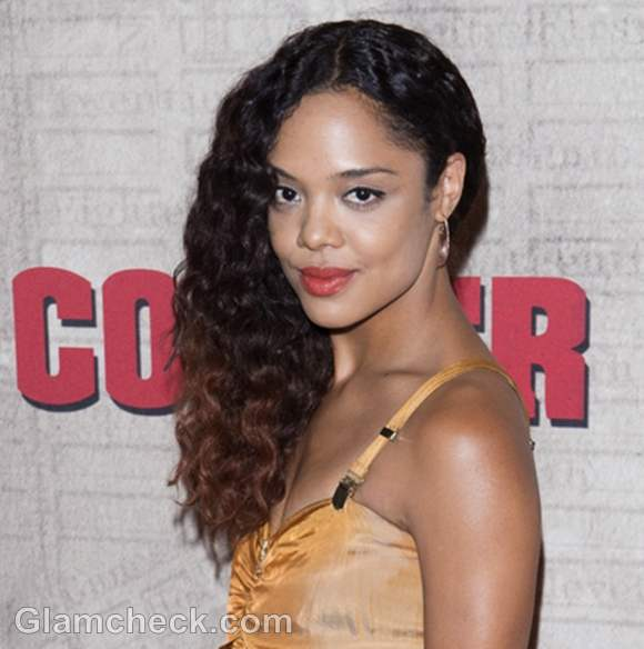 tessa thompson�s sweet but sexy hair and makeup at �copper