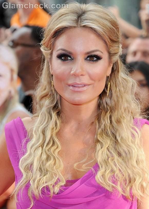 beach curls hairstyle Charlotte Jackson