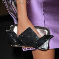 futuristic clutch Olga Segura