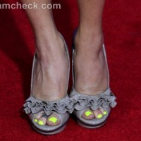 neon nails pedicure Amy Paffrath