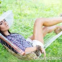 rock the look wearing white shorts cowgirl style