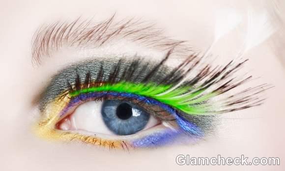 Beauty how to neon eye shadow