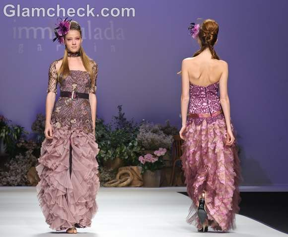 Bridal trends 2013  immaculada garcia Modern Romantic Collection