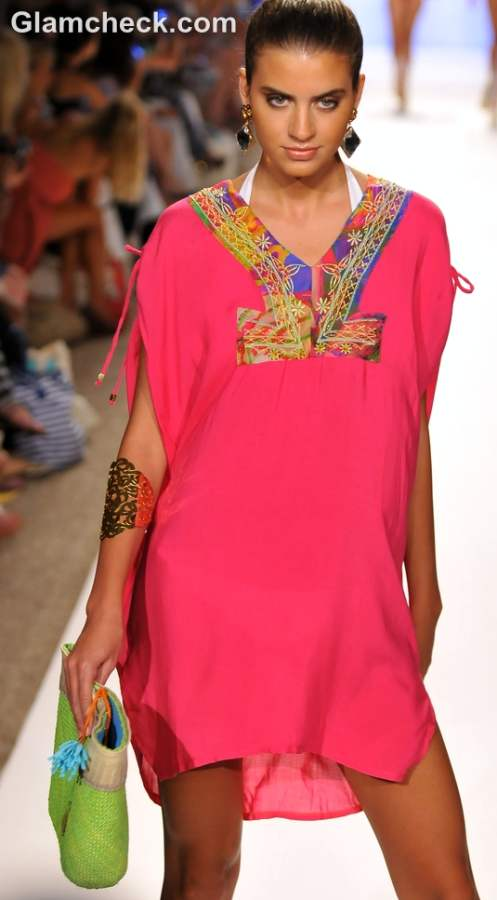 Caffe swimwear collection s-s 2013 coverup kaftan