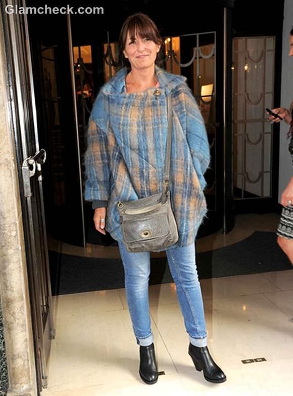 Davina McCall at Fearne Cotton Fashion Show 2012