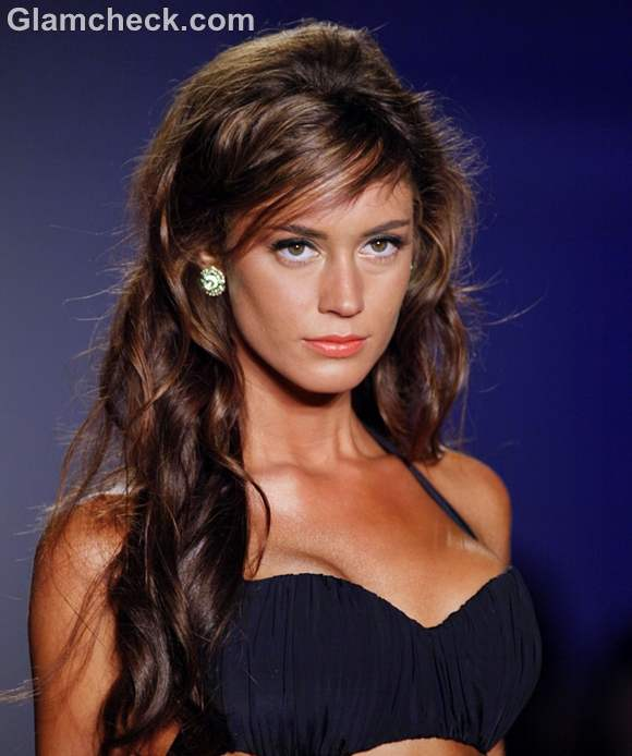 Hairstyle soft beach waves how to 2012 white sands swimwear