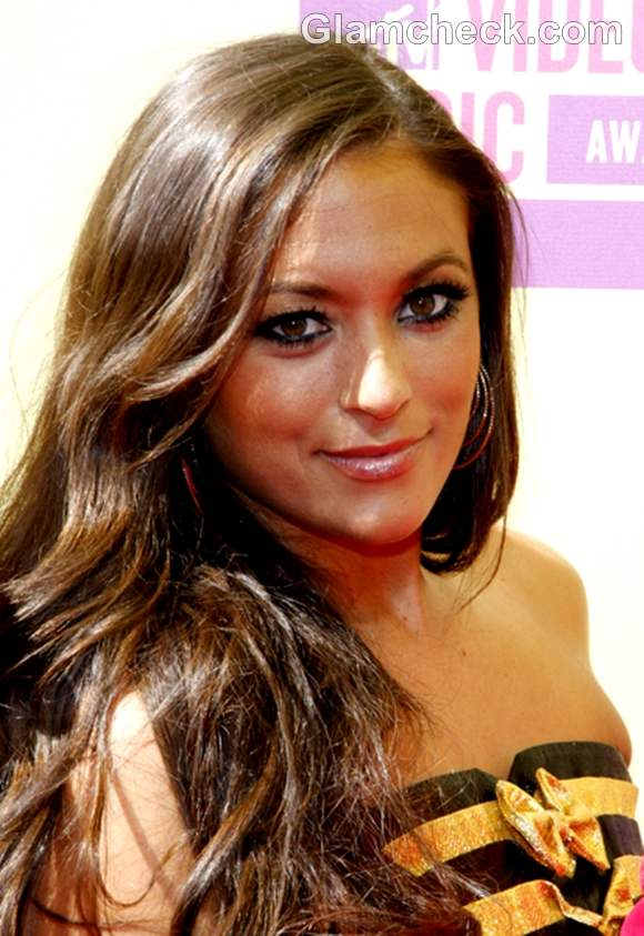 Jwoww hairstyle 2012 MTV Video Music Awards